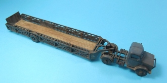 1/76 Bedford OX & Queen Mary Trailer