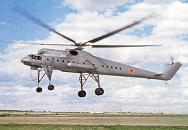 Prototipo V-10 (En vuelo. In flight)