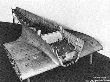 Mitad inferior del fuselaje. Fuselage lower half