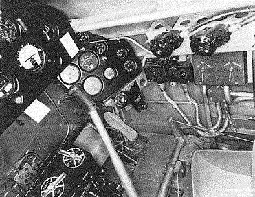 Carlinga. Cockpit