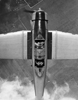 BT-9 (En vuelo. In flight)